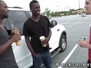 Tattooed Twink Cody Bristol Sucks Two Bbcs And Gets His Ass Slammed